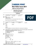 JEE _Main_ Online Exam _9-01-2020_ Shift-I [Chemistry].pdf