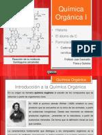 QUÍMICA ORGÁNICA I (LINEALES Y RAMIFICADAS)