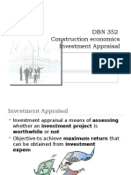 CHAPTER 9 - Investment appraisal