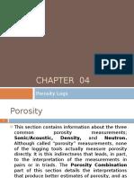 Porosity Logs