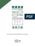 ITF Duties and Procedures (1)