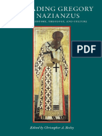 (CUA Studies in Early Christianity) Christopher A. Beeley - Re-Reading Gregory of Nazianzus_ Essays on History, Theology, and Culture-Catholic University of America Press (2012).pdf