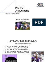 Adjusting to Trips Formations 4-2-5