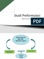 Studi Preformulasi