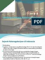 Undang Undang Ketenagakerjaan by M. Fahmi Bahar Dkk
