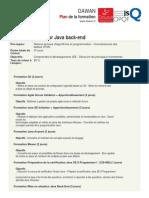 DeveloppeurJavaback-end