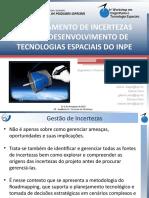 Gerenciamento de Incertezas WETE 2015