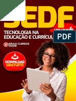 SEDF - BNCC - Tecnologia na Educação e Currículo