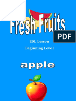 Food Pre 2b Fruits