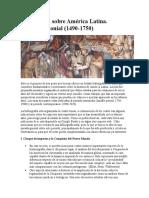 Bibliografía sobre América Latina