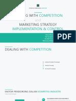 Strategi Pemasaran Lanjutan-Dealing Competition & Marketing Implementation