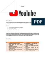 Evidencia 1 Presentación del cliente – brief