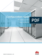 Configuration routeur Huawei