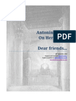 Antonin Zadak on Hermetics