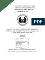 perbandingan audit antara profesi akuntansi dan non akuntansi