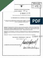 DECRETO 365 DEL 05 DE MARZO DE 2020