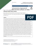 Smart radio environments empowered.pdf