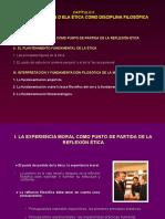 2. LA CONSTITUCIÓN DE LA ÉTICA COMO DICIPLINA FILOSÓFICA