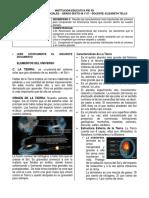 Documento y actividad 3. La Tierra