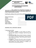 10. Modelo de presentación de proyectos [1] AUIOVISUALES