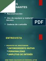 FACTORES DETERMINANTES DEL INCIDENTE