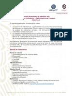 Temas examen de admisión MMOP