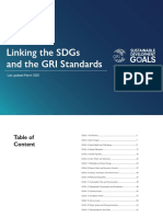 Mapping SDGs GRI Update March