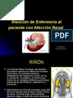 Atencion de enfermeria al paciente AFECCION RENAL UTM2