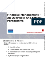 financial maangement ethical perspective