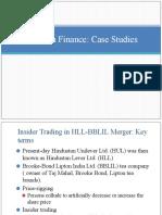 Ethics in finance case studies