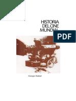 HISTORIA DEL CINE MUNDIAL Sadoul