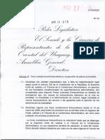 Ley 19879 de feria judicial extraordinaria y suspensión de plazos procesales
