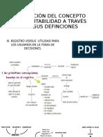 EVOLUCIÒN DEL CONCEPTO DE CONTABILIDAD A TRAVÈS DE