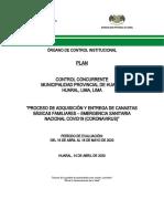 Plan Control Concurrente COVID 19 CANASTA FAMILIAR 001-2020-Chancay