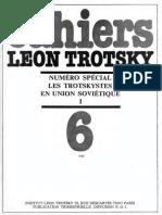 Cahiers Léon Trotsky, Numéro 06 (1980)