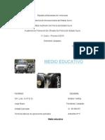 Tecnicas basicas de la funcion policial - El medio educativo
