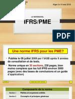 Communication  N. DJEMIL journée d'études sur le SCF 14 mai 2018 IFRS PME (1)