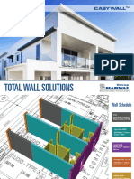 Easy Wall System Load Bearing Panels