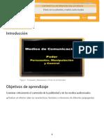 Efecto de la publicidad y medios audiovisuales.