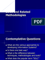 SDLC and Methodologies