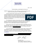 Pentagon Inspector General Letter Redacted