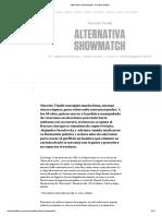 Alternativa Showmatch - Seselovsky y Amado