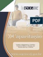 Apostila - Contratos Administrativos, Termos de Parceria e Convênios..