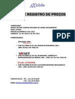 APRESENTAÇÃO ATA DE REGISTRO DE PREÇOS - ANS - LOTES  01-02-03