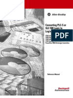 Converting PLC-5 or SLC500 Logic to Logix Based Logic