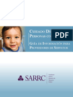 Dental Information Guide for Autism Providers- Spanish Version