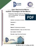 Reporte_de las obligaciones de los comerciantes_jorge luis isidor ozuna_turismo_semetres_2_fundamento de derrecho.docx