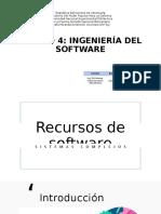 Recursos de software en sistemas complejos