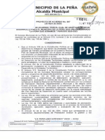 Proyecto de Acuerdo 007-1
