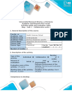 Activities guide and evaluation rubric - Task 1 - Collaborative wor